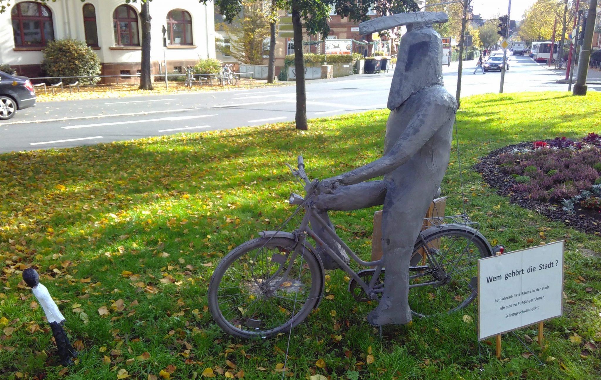 Verkehrspolitische Kunstwerke