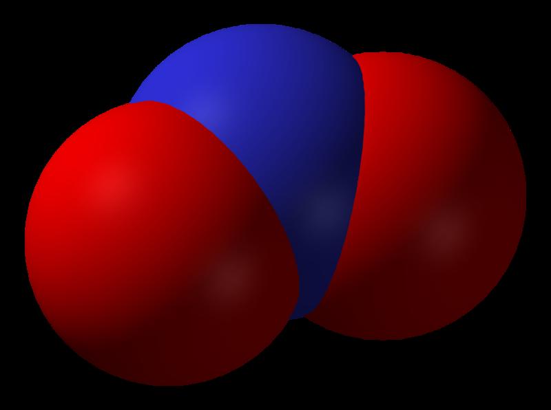 Nitrogen-dioxide-3D