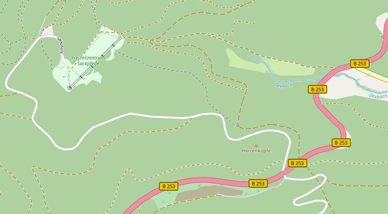 ÖPNV-Anbindung für Freizeitzentrum Sackpfeife