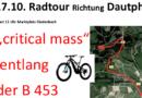 """Zukunftsforum Gladenbach – """"Kritische Radtour"""" über die  Bundesstraße 453"""